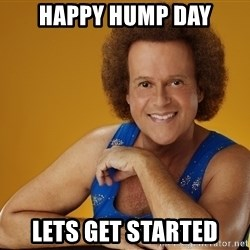 Gay Richard Simmons - Happy Hump Day Lets get STARTED