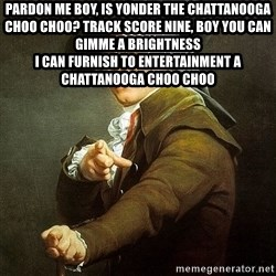 Ducreux - Pardon me boy, is yonder the Chattanooga Choo Choo?