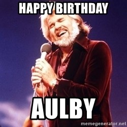 Kenny Rogers - Happy birthday Aulby