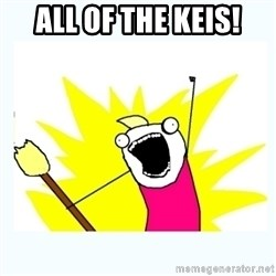All the things - All of the Keis!