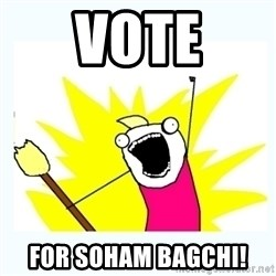 All the things - Vote for soham bagchi!
