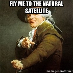 Ducreux - Fly me to the natural satellite