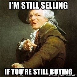 Ducreux - i'm still selling if you're still buying