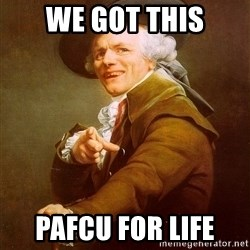 Joseph Ducreux - WE GOT THIS PAFCU FOR LIFE