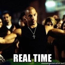 Dom Fast and Furious - REAL TIME