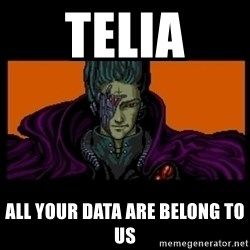 All your base are belong to us - TELIA all your data are belong to us