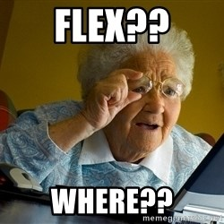 Internet Grandma Surprise - Flex?? Where??