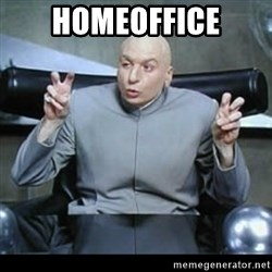 dr. evil quotation marks - Homeoffice
