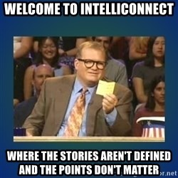 drew carey - Welcome to IntelliConnect Where the stories aren't defined and the points don't matter