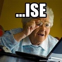 Internet Grandma Surprise - ...Ise