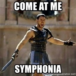 GLADIATOR - Come at me  symphonia