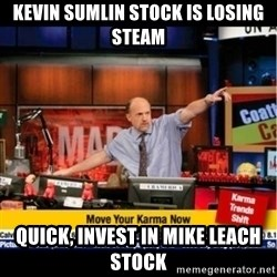 Mad Karma With Jim Cramer - Kevin sumlin stock is losing steam Quick, invest in mike leach stock