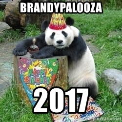Happy Birthday Panda - brandypalooza 2017