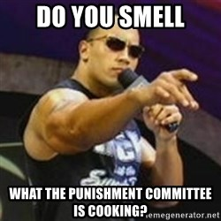 Dwayne 'The Rock' Johnson - Do you smell What the pUnishment committee is cookiNg?