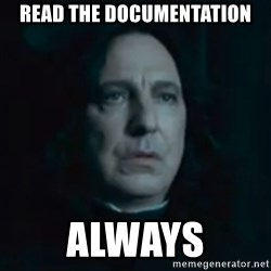 Always Snape - READ THE DOCUMENTATION ALWAYS