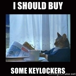 i should buy a boat cat - I SHOULD BUY SOME KEYLOCKERS