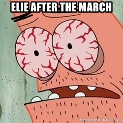 Patrick - Elie after the march