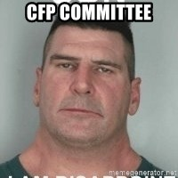 son i am disappoint - CFP COMMITTEE