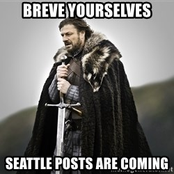 ned stark as the doctor - Breve yourselves Seattle posts are coming