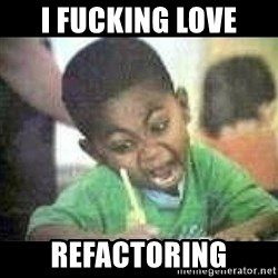 Black kid coloring - I FUCKING LOVE REFACTORING