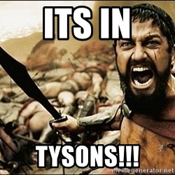 This Is Sparta Meme - Its in Tysons!!!