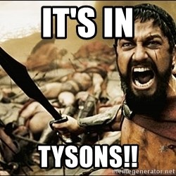 This Is Sparta Meme - It's in tysons!!