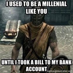 skyrim whiterun guard - I used to be a millenial like you Until i took a biLl to my bank account