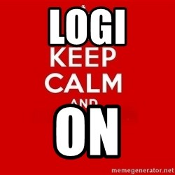 Keep Calm 2 - LOGI On