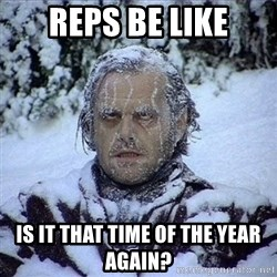 Frozen Jack - REPS BE LIKe is it that time of the year again?