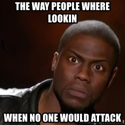 kevin hart nigga - The way people where lookin  When no one would attack