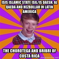 Unlucky Brian Strikes Again - ISIS Islamic State ISIL/IS Daesh, Al Qaeda and Hezbollah in Latin America The Chorotega and Bribri of Costa Rica