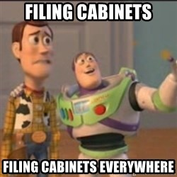 Buzz - filing cabinets filing cabinets everywhere