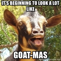 Illogical Goat - it's beginning to look a lot like goat-mas