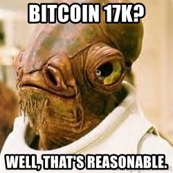 Its A Trap - BITCOIN 17k? WELL, That's REASONABLE.