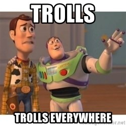 Toy story - Trolls Trolls everywhere