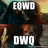 Never Have I Been So Wrong - eqwd dwq