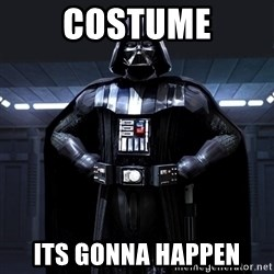 Darth Vader - Costume ITS GONNA HAPPEN