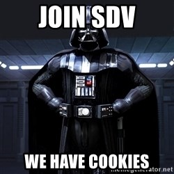 Darth Vader - join SDV We have cookies