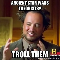 Giorgio A Tsoukalos Hair - Ancient Star Wars theorists? Troll them