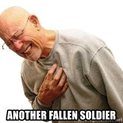 Old Man Heart Attack - Another Fallen Soldier