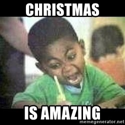 Black kid coloring - CHRISTMAS IS AMAZING