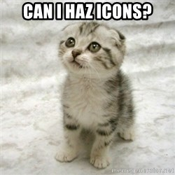 Can haz cat - Can I haz icons?