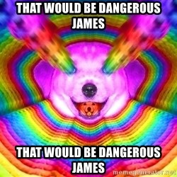 Final Advice Dog - that would be dangerous james that would be dangerous james