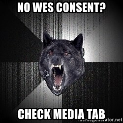 Insanity Wolf - No WES CONSENT? Check media tab