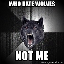 Insanity Wolf - Who hate wolves Not me