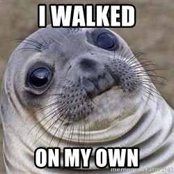 Awkward Seal - I walked On my own
