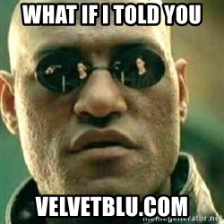 What If I Told You - What if I told you Velvetblu.com