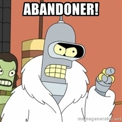 bender blackjack and hookers - ABANDONER!