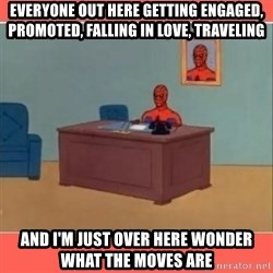 Masturbating Spider-Man - everyone out here getting engaged, promoted, falling in love, traveling and i'm just over here wonder what the moves are