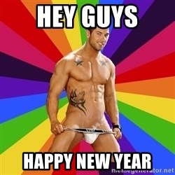 Gay pornstar logic - Hey guys  Happy new year